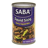 Saba Sisig Styled Canned Squid Spicy bits - 155 g