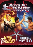 Kung Fu Theater: Ninja Thunderbolt/Invincible Hero DVD