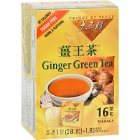 Prince of Peace  Ginger Green Tea, 16 Instant sachets (1.8g)