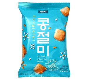 Neo Congjolmi Korean Rice Snack with Soybean Powder 60g