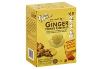 Prince of Peace Ginger Honey Crystals  Instant Tea, Original Flavor 10 sachets