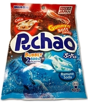 Puchao Ramune Flavor  Japanese Gummy n Soft Candy 3.35 oz