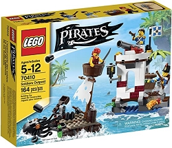 LEGO Pirate Series - Soldier Outpost Building Block Set 70410