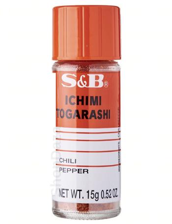 S B Ichimi Togarashi Kirei Japanese Chilli Pepper Seasoning Spice Powder Ebay